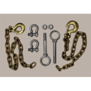 Andersen Mfg 3230 Ultimate Connexion Safety Chains - Includes Bracket Hardware.