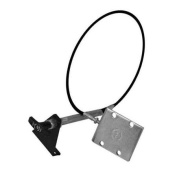 Andersen Mfg 3112 Remote Cable System A 4 Bolt Plate For Ranch Hitch Adapter, Upgrade 2-Bolt To This Unit.