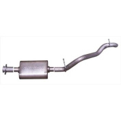 Gibson 17304 Cat-Back Performance Exhaust System, Single Straight Rear