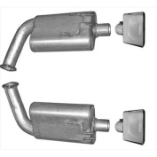 Gibson 318002 Cat-Back Performance Exhaust System, Axle Back