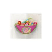 Munchkin Corner Bath Organiser - Pink
