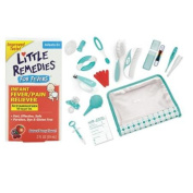 Little Remedies Fever Pain Reliever with Nursery Care Kit