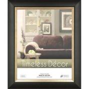 Timeless Frames 78139 Michelangelo Black Silver Wall Frame 20cm x 25cm .