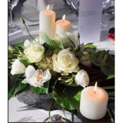 Will & Baumer 106739 Candle White Pillar 3 x 6