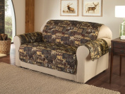 Innovative Textile Solutions Innovative Textile Solutions Lodge Loveseat Protector, Multi