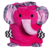 Blossom and Buds Elephant Rolled Blanket