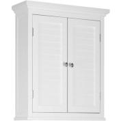 Elegant Home Elegant Home Fashions Slone Wall Cabinet 2 Shutter Doors