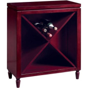 Wine Bunching Chest, Red