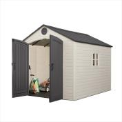 Lifetime Products 6405 2.4m x 3m Storage Shed, 1 window
