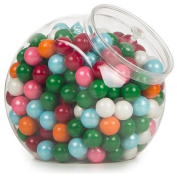 Amscan BB410017 Candy Jar Plastic Container with Lid -Each