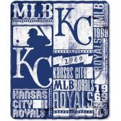 MLB Kansas City Royals 130cm x 150cm Fleece Throw