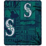 Northwest NOR-1MLB031020025RET 130cm x 150cm . Seattle Mariners MLB Light Weight Fleece Blanket Strength Series