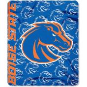 Northwest NOR-1COL031010093RET 130cm x 150cm . Boise State Broncos NCAA Light Weight Fleece Blanket Mark Series