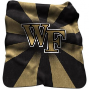 Logo Chair NCAA Wake Forest Raschel Throw