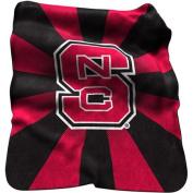 Logo Chair LCC-186-26 North Carolina State Wolfpack NCAA Raschel Throw