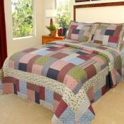 Lavish Home Savannah Quilt 3 Piece Set - Full-Queen