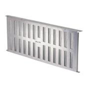 36 Sq In Free Area Aluminium Manual Foundation Vent-FOUNDATION VENT W/DAMPER