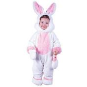 Infant Plush Bunny Costume FunWorld 9683, Small
