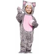 Fun World Little Stripe Kitten Toddler Costume 3T - 4T