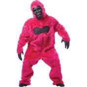 Pink Gorilla Adult Halloween Costume