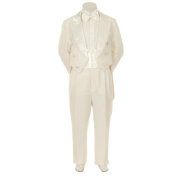 Kids Dream Ivory Formal 5 pcs Tail Special Occasion Boys Tuxedo 18M