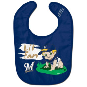 Milwaukee Brewers Official MLB Infant One Size Baby Bib All Pro Style by McArthur