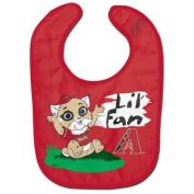 Arizona Diamondbacks Official MLB Infant One Size Baby Bib All Pro Style by McArthur