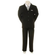 Kids Dream Silver Chequered Vest Formal Special Occasion Boys Suit 18M