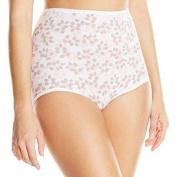Bali Skamp 2633 Skamp Brief Panty Size 8 - Tender Bud Print Assorted