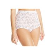 Bali Skamp 2633 Skamp Brief Panty Size 10 - Tender Bud Print Assorted