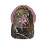 Duck Commander Women's Camo/Pink Mesh Cap Hat DC-HAT-WCPM