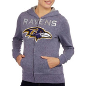 NFL Juniors Ravens French Terry Hooded Fleece