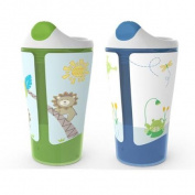 Born Free Grow with Me 30ml Sippy Cup 2-Pack - Boy