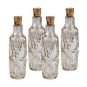Sterling Industries 169-008/S4 Accents Home Decor Decorative Bottles ;Antique Mercury