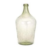 Bryn Green Bubble Glass Jug