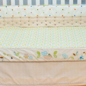 Nurture Imagination Nest Decorator Crib Sheet