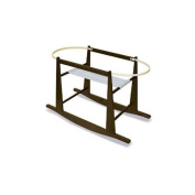 Rocking Moses Basket Stand Expresso