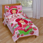 Strawberry Shortcake 4-Piece Toddler Bedding Set