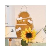 Brandee Danielle Bee My Baby Bee Hive Hanging Art