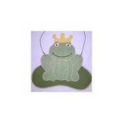Brandee Danielle Ribbit Frog Hanging Art