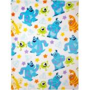 Disney Monsters Plush Printed Blanket