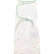 Child of Mine by Carter's Giraffe Family Simply Secure Swaddle Blanket