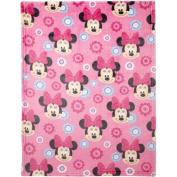 Disney Minnie Mouse Plush Printed Blanket
