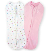 SwaddleMe Pod, 2-Pack, Baby Bows