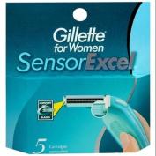 Gillette for Women SensorExcel Cartridges 5 ea