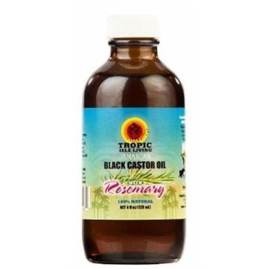 Tropic Isle Living Jamaican Black Castor Oil with Rosemary, 120ml