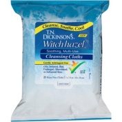 T.N. Dickinson's Witch Hazel Soothing, Multi-Use Cleansing Cloths, 25 sheets