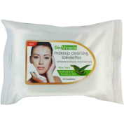 BioMiracle Aloe Vera Makeup Cleansing Towelettes, 30 sheets,