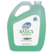 Dial Basics Foam Soap Refill - Fresh Scent - 3.8l[3.8 L] - Light Green - 1 Carton - Hypoallergenic
