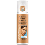 Sally Hansen Airbrush Face Makeup Foundation, Natural Tan, 30ml